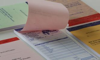 Blocchi ricevute fiscali